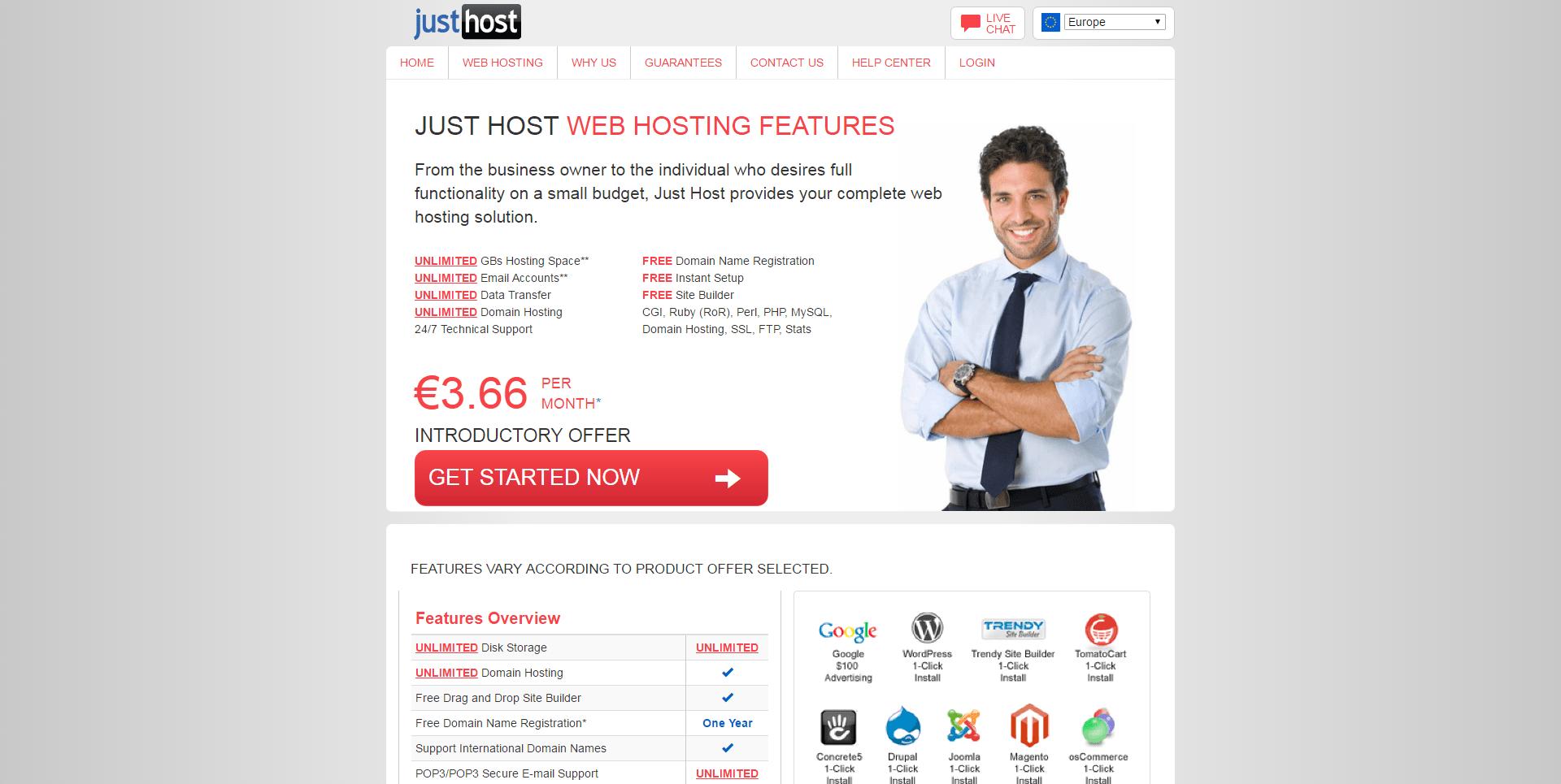 Justhost-hebergement-web