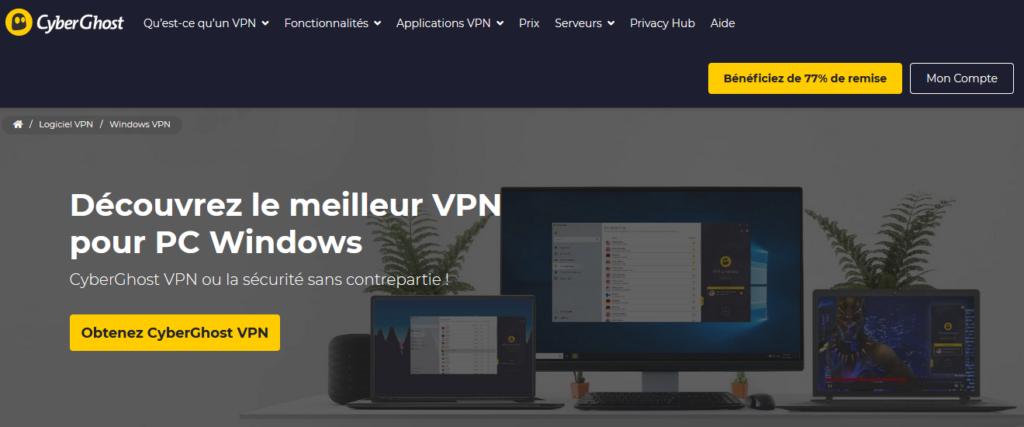 Solutions VPN pour les entreprises CyberGost