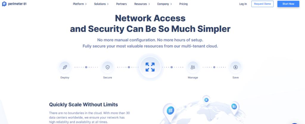 Solutions VPN pour les entreprises Perimeter 81