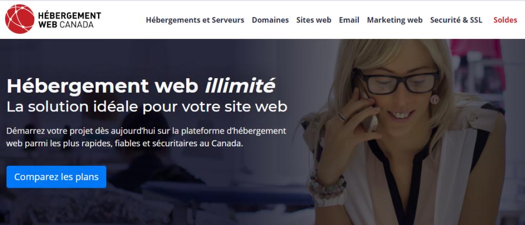 Hébergements partagés Web Hosting Canada