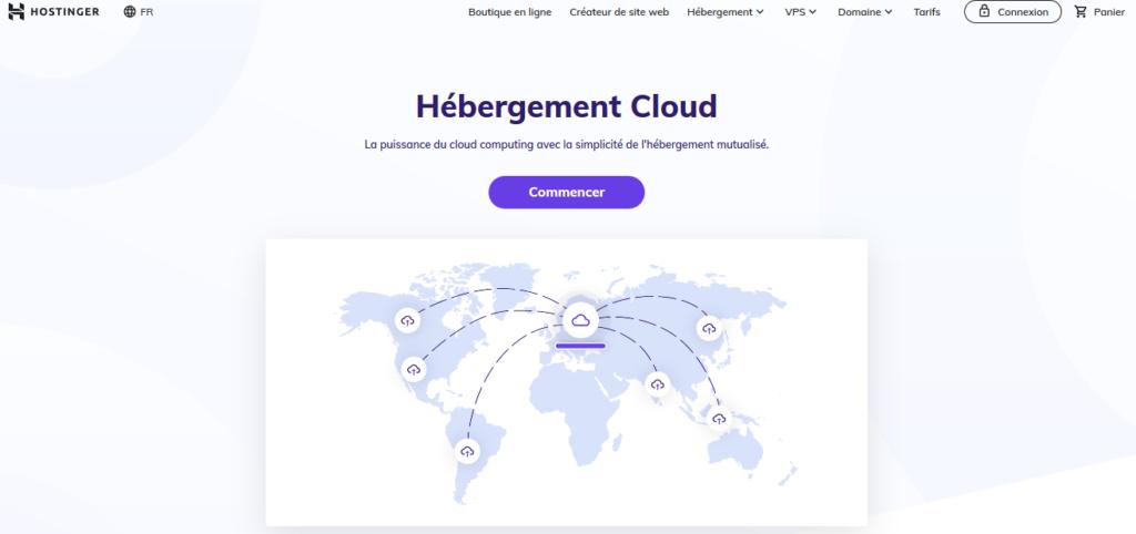 Hébergeurs Cloud Hostinger