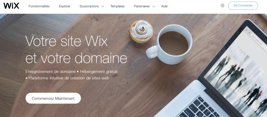 Hébergements Web gratuits Wix