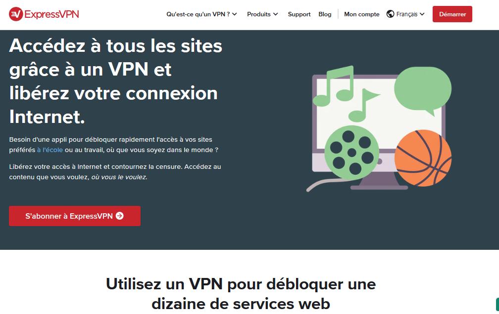 VPN pour débloquer Netflix US Express VPN