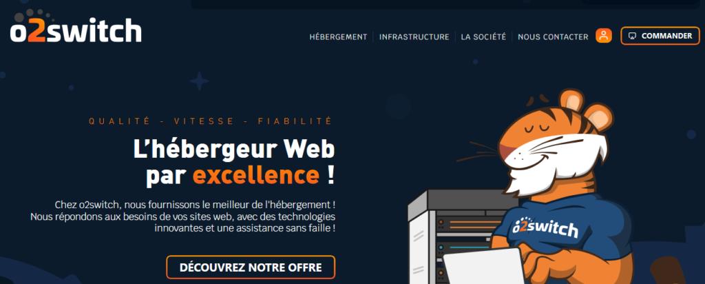 O2Switch hébergeurs pour WordPress
