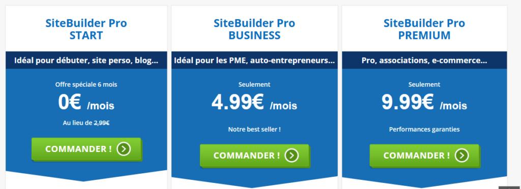 sitebuilder pro