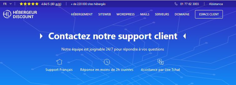 support client
